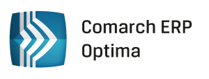 Comarch system ERP Optima